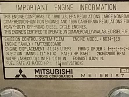Mitsubishi 6D24-TEB